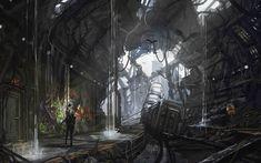Art subway railway cars subways apocalyptic train trains wallpaper   2560x1600   122224   WallpaperUP