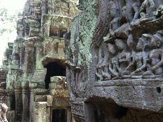 The legendary ruins of Ta Prohm.