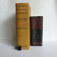 HUGE Vintage Science BOOKS - Chemical Engineering and Chemistry/Physics