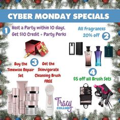 Take full advantage of #onlineshopping today! My 4 deals last ALL DAY. So no rush trying to squeeze in a sale during a certain hour. Shop through my link in the bio or message me. Discounts taken prior to billing! Questions? Let me customize for you or your giftee!  There's no #shopping like #CyberMonday Shopping!  #CyberMondayShopping #CyberMondayDeals #CyberMondaySpecial #skincare #makeuplover #specialdelivery #gifts #giftgiving #holiday #Christmas #perfume #mensline #stockingsstuffer…