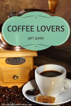 Are you looking for the perfect gift for a coffee lover, #coffeelover look no further I have done the shopping for you! check out these great coffee themed gifts! Shopping can be time consuming, take a break and check out these items and shop when it's convenient for you! #coffee, #gifts, #shopping http://www.thoughtsinthebreeze.com/2017/10/08/gift-guide-coffee-lover-9-great-gift-ideas/