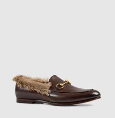 Gucci - mocasín gucci jordaan de piel con horsebit 397645DKH202060