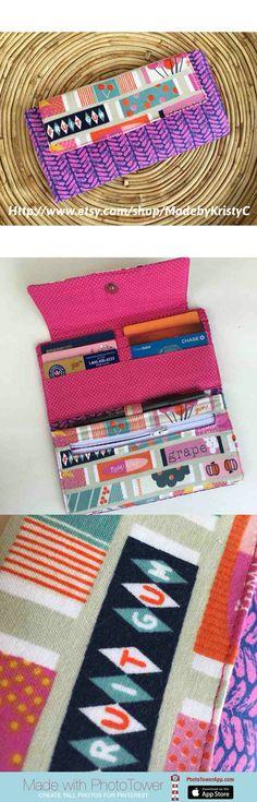 Super cute wallet!   https://www.etsy.com/listing/291104221/fiona-wallet-womens-wallet-retro-gum