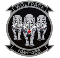 """Marine Heavy Helicopter Squadron 466 (HMH-466), Miramar Marine Corps Air Station """"Wolfpack"""""""