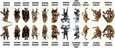 Fantasy Monsters 090 - Cat-Men