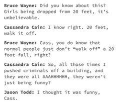 Batfam Cassandra Cain