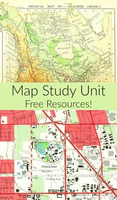 FREE Maps Study Unit Resources + Intro to Map Children's Book Recommendations