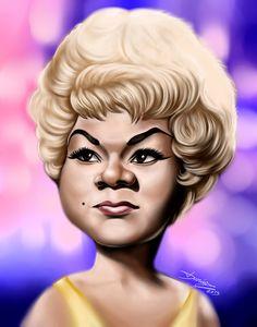 Etta James by DarDesign on deviantART