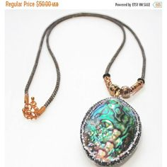 On Sale Statement Necklace, Fashion Jewelry, Shell Pendant, Papua... ($43) ❤ liked on Polyvore featuring jewelry, necklaces, sea shell necklace, statement necklace, seashell necklace, bib statement necklaces and multi coloured necklace
