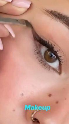 Face Makeup Tips, Makeup Eye Looks, Beautiful Eye Makeup, Eye Makeup Art, Skin Makeup, Eyeshadow Makeup, Makeup Looks Tutorial, Eyeliner Tutorial, Edgy Makeup