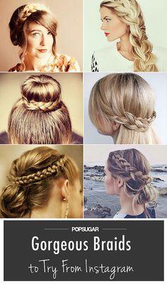 Summer braid inspiration from Instagram.
