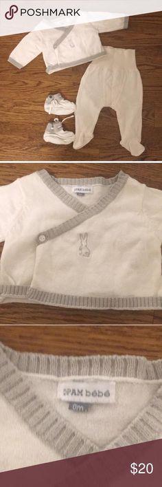 Ralph lauren baby polo t-shirt top 3,6,9,12 mois-neuf