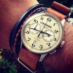 Chubster's choice Men's Watches - Watches for Men ! - Coup de cœur du Chubster Montre pour homme ! Longines #mode #montre #chronographe…