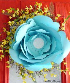 Big Bloom Paper Flower Kit - EverythingEtsy.com