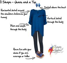 Body Shape Bible: Understanding How to Dress O Shape Bodies