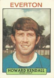 HOWARD KENDALL 1971-72 EVERTON Bristol Rovers, Der Club, Chewing Gum, Everton, Football Fans, Kendall, How To Memorize Things, England, Memories