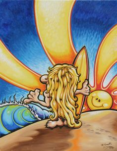 Surf Art - Drew Brophy - Surf Lifestyle Artist