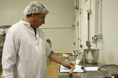 Testing pH of Culley's sauce During production, the pH of Culley's sauce is monitored to ensure the safety and consistency of the products. Freeze Drying, Preserving Food, Consistency, Auckland, Food To Make, Ph, Safety, Awesome, Products