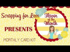 Unboxing flavor of the month June 2017 card kit - YouTube