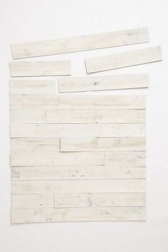For those of us who dont live in a rustic home built in the earlier part of the 20th century...Stikwood Wall Covering #anthropologie
