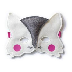 etsy Cat felt mask for kids