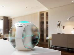 Have the climate of your favorite places in your own home with this air globe. #climate #environment #YankoDesign