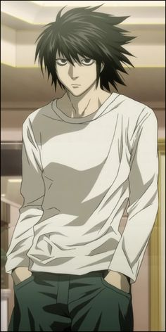 L form the anime Death Note! He is so so so great! :)