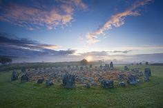 Beaghmore Stone Circles, County Tyrone, Northern Ireland