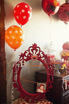 Sesame Street Party | Elmo Birthday Party www.lifeandbaby.com