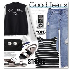 Casual (jeans and stripes)