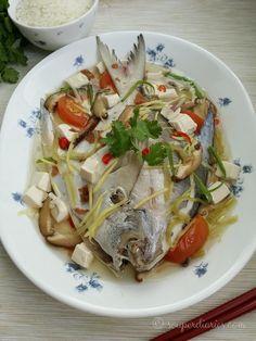 Teochew Steamed Fish - Souper Diaries