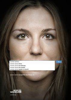 A campaign for UN Women shows how gender prejudice can rear its ugly head on a universal tool like Google.