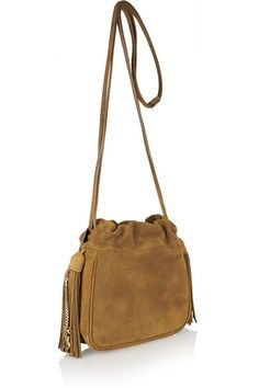 Tan suede (Calf) Drawstring top Designer color: Light Ocre Weighs approximately 0.9lbs/ 0.4kg Made in Italy