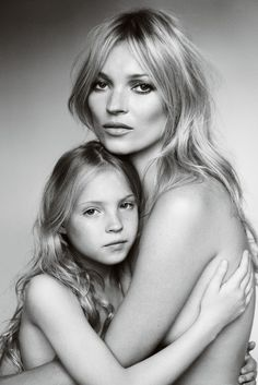 love this mother daughter portrait