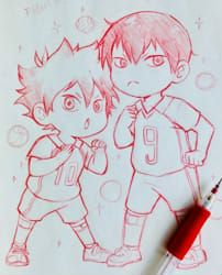 Who has a crush on you in Haikyuu!