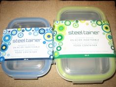 Steeltainer Review & Discount - Lightweight, Functional, and Eco Friendly Food Containers. Great for food allergies.