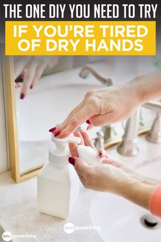 Learn how to make an affordable homemade foaming hand soap here! This soap leaves your hands feeling clean and moisturized, rather than dried out!