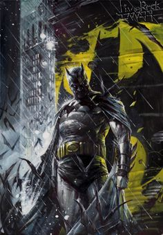 The Batman - Francesco Mattina  Comic Art