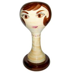 60's STANGL Wig Stand