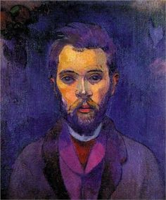 Paul Gauguin (French: 1848 – 1903)  | Post-Impressionism | Portrait of William Molard - 1894