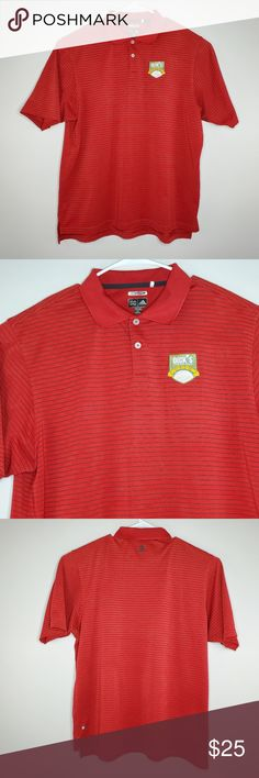 dd08391ad Adidas Embroidered Golf Open Polo Shirt Size XXL Adidas Mens Golf Polo has  a great blend