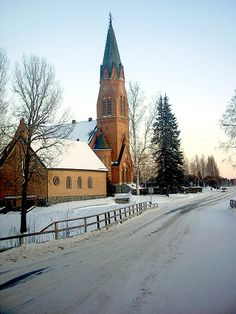Kauhava Lutheran church, Finland. Grave Monuments, Scandinavian Countries, Graveyards, My Land, Lutheran, Our World, Scandinavian Style, Norway, Sweden