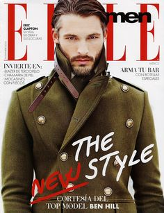Ben Hill on The Cover of Elle Men of Mexico