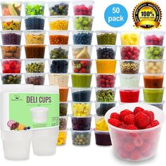 Plastic Food Storage Containers with Lids
