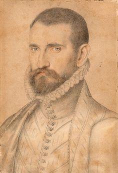 School of François Clouet Costume Renaissance, Renaissance Portraits, Renaissance Men, Renaissance Artists, Portrait Sketches, Portrait Art, Silverpoint, Academic Art, French History