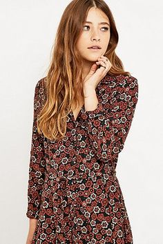 Urban Outfitters Belted Shirtdress