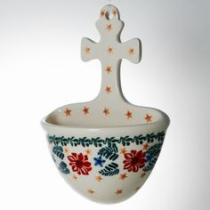 Handmade Ceramic Holy Water Font – Gifts by Kasia