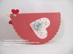 Chicken Love by mandypandy - Cards and Paper Crafts at Splitcoaststampers