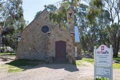 Glenrowan Granite stone church - Glenrowan  www.mawsons.com.au
