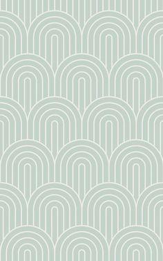 Green Infinite Loop Wallpaper Mural | MuralsWallpaper